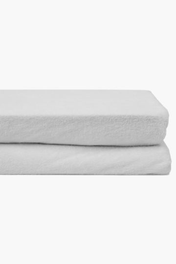 Towelling Cot Mattress Protector