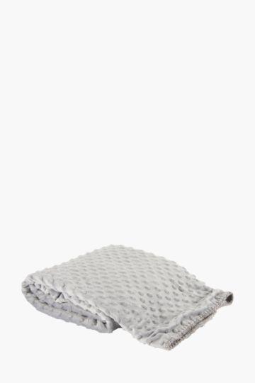Microfibre Dot 70x110cm Blanket