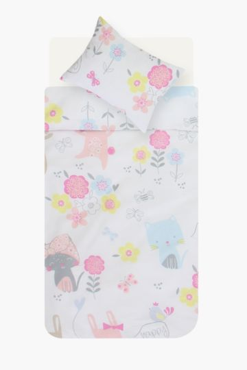 Daisy Cat Baby Duvet Cover Set