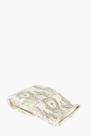 Sombrero Lion Blanket