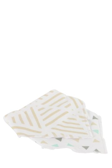 Pack Of 2 Cotton Bibs