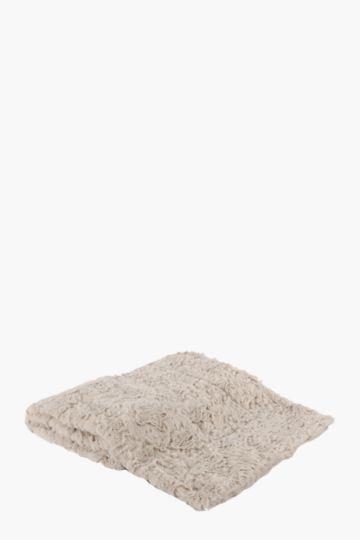 Faux Fur 75x110cm Blanket