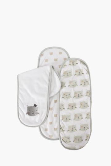 Pack Of 3 Burp Cloths
