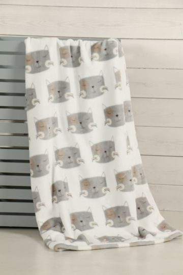 Super Plush Cats Blanket, 70x110cm