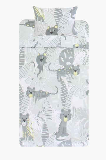 Wild Cats Baby Duvet Cover Set
