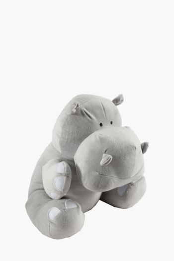 Giant Hippo Soft Toy