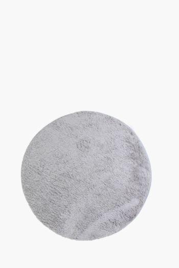 Round Shaggy Rug, 120cm