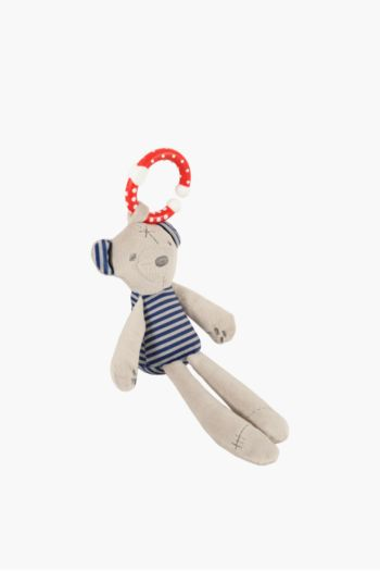 Bear Rattle Soft Toy