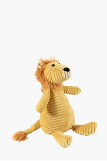 Leo The Lion Corduroy Soft Toy