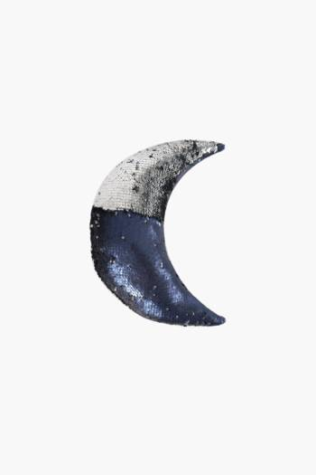 Sequin Crescent Shaped Cushion