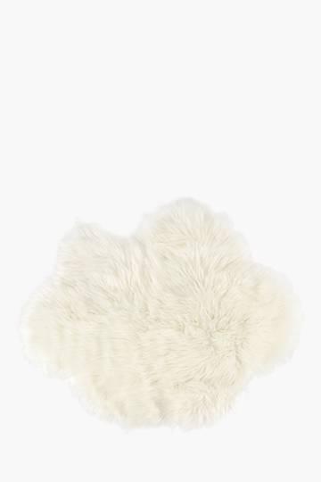 Fur Shaped Cloud Rug, 70x100cm