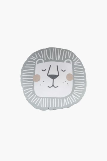 Lion Round Cushion, 30cm