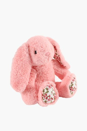 Floral Bunny Soft Toy