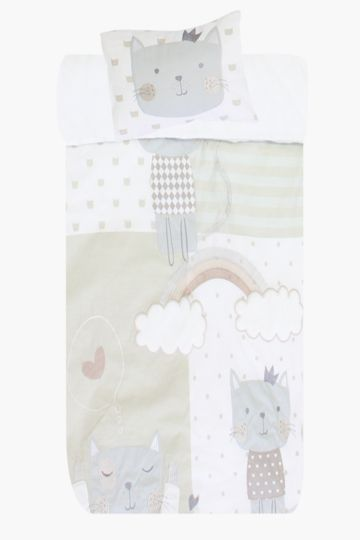 Embroided Baby Duvet Cover Set