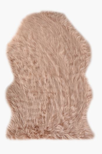Faux Fur Animal Pelt Rug