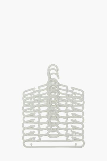 Plastic Hangers Ten Pack