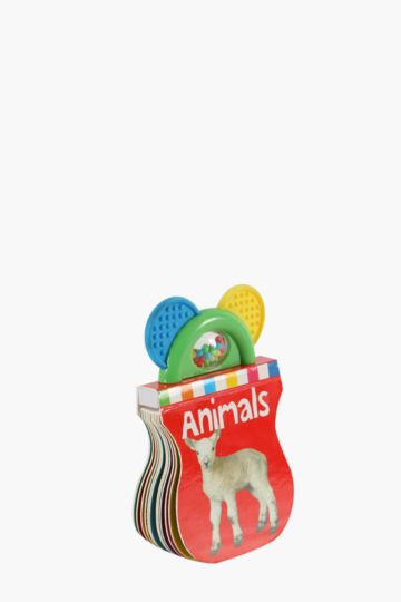 Baby Animal Teether Book