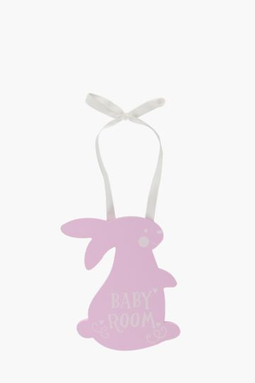 Wooden Bunny Hanging Decor