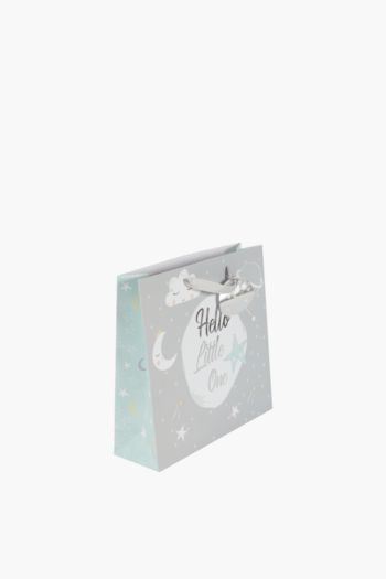 Sleepy Script Gift Bag