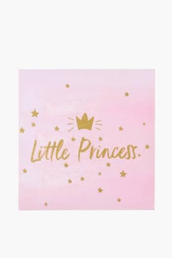 Little Princess Canvas, 40x40cm