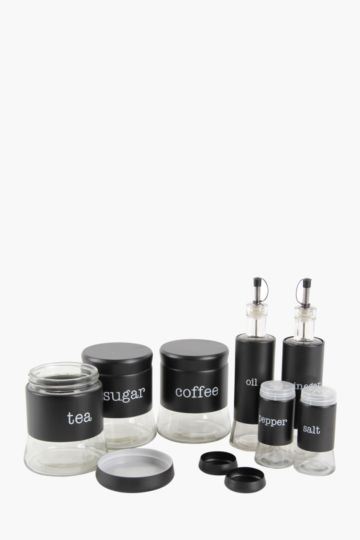 7 Piece Glass Storage Set