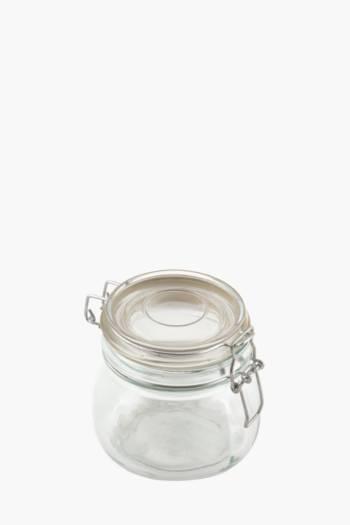 Glass Clamp Jar, 500ml