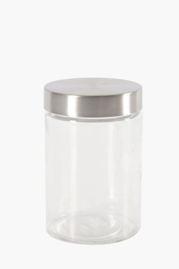 Glass Canister, Medium