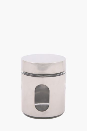 Oval Window Canister, Small