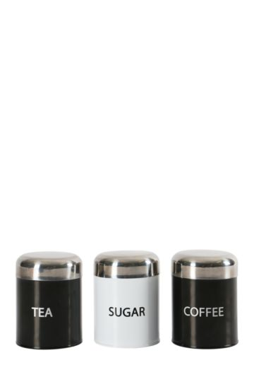 Bullet 3 Piece Canister Set