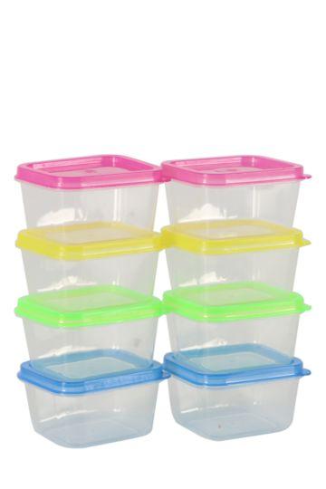 8 Piece Mini Storage Set