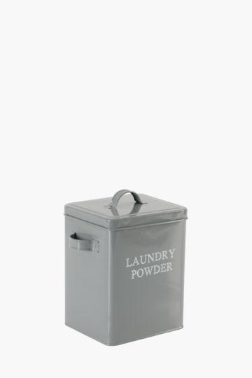 Galavanised Laundry Powder Tin