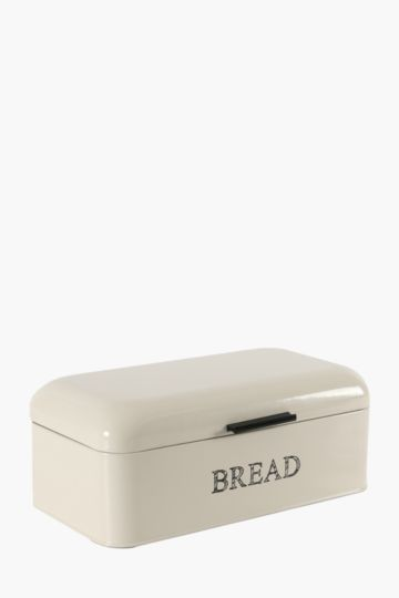 Galvanized Rounded Lid Bread Bin