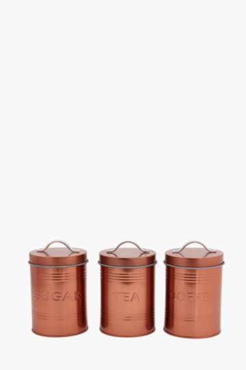 Set Of 3 Tribeca Canisters