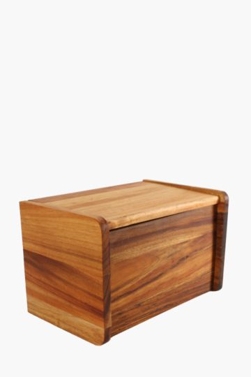 Java Wooden Bread Bin