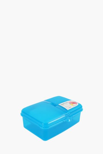 3 Division Lunch Box With Bottle