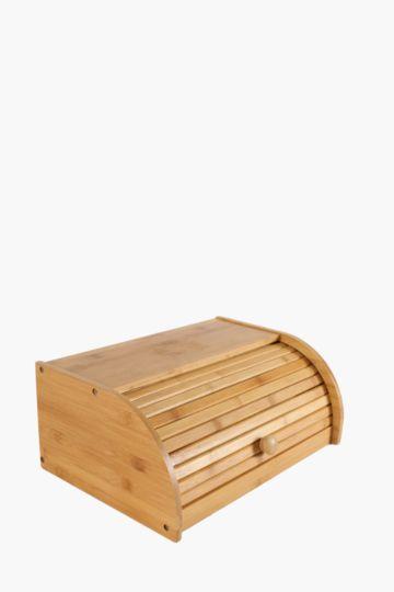 Bamboo Roll-up Bread Bin