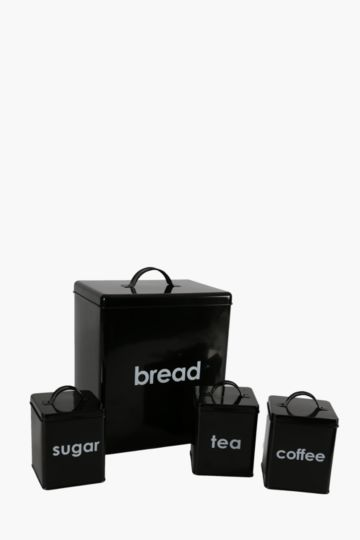 Bread Bin And Canister Value Pack