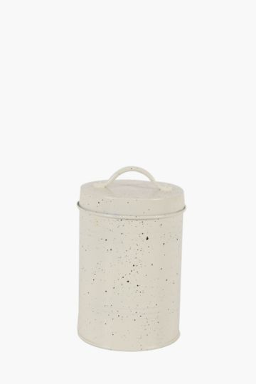 Speckle Metal Canister