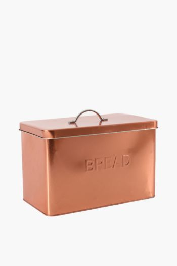 Hugo Metallic Bread Bin
