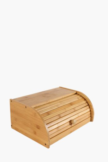 Bamboo Roll-up Bread Bin