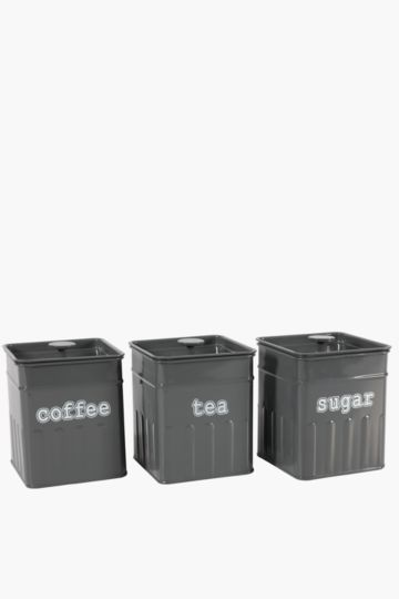 Muso Rib Set 3 Canisters
