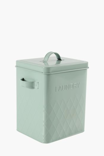 Huxley Textured Laundry Powder Tin