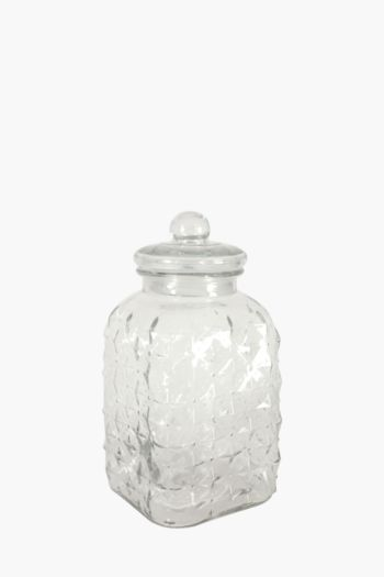 Starry Glass Cookie Jar, 48 L