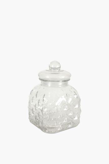 Starry Glass Cookie Jar, 3 L