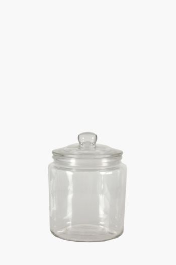 Glass Cookie Jar, 2 L