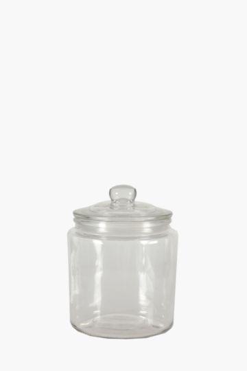 Glass Cookie Jar, 2 L