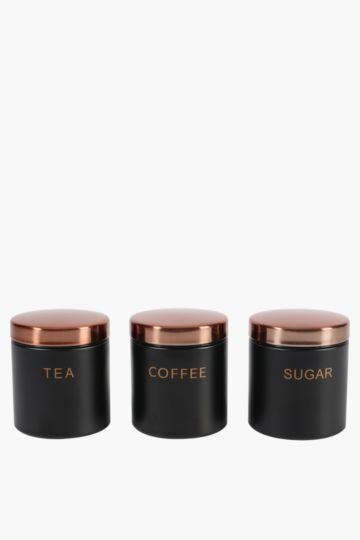 Set Of 3 Mason Canisters