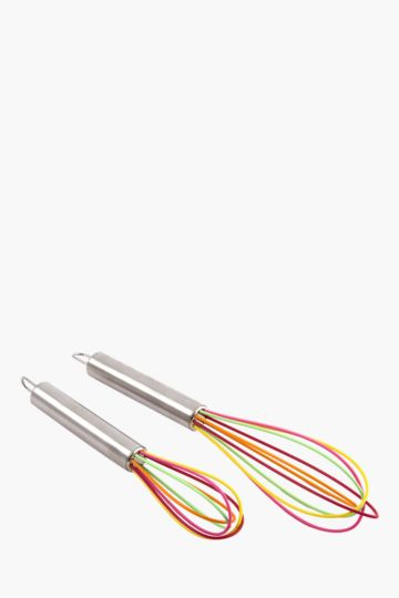 2 Pack Silicone Whisk
