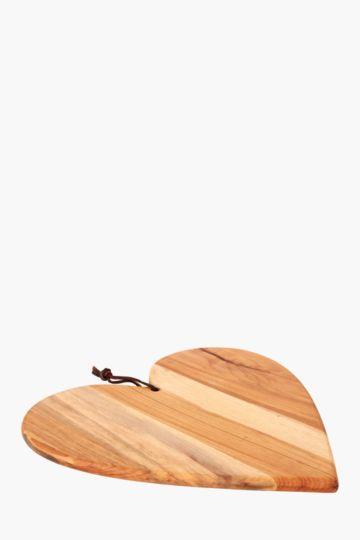Java Heart Chopping Board