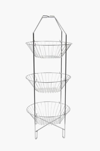 Chrome 3 Tier Vegetable Rack